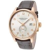 银联返现购:HAMILTON Jazzmaster H42575513 男士休闲手表