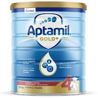 Aptamil 爱他美 金装 婴幼儿配方奶粉 4段 900g *4件