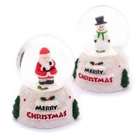 ROYDEN 圣诞老人水晶球 小号 带灯光 款式随机
