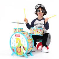 费雪 多功能架子鼓儿童初学入门乐器