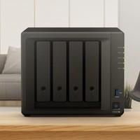 小编精选:Synology 群晖 DS920+ 四核心四盘位 NAS网络存储服务器