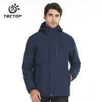 TECTOP 探拓 D207277CF 男女款三合一冲锋衣