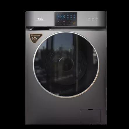 TCL DD直驱系列 G100V200-D 全自动滚筒洗衣机 10kg 星耀灰