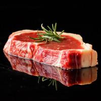 京东PLUS会员:LIZEA 利泽  乌拉圭西冷原切牛排 6~8片 共1kg