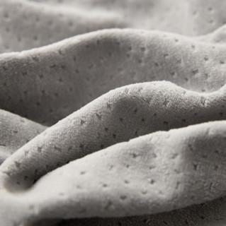 Nan ji ren 南极人 慢回弹竹炭记忆枕 单只 长方形 灰色