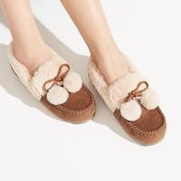 hotwind 热风 H010W0737608 女士豆豆鞋