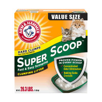 88VIP:Arm&Hammer 铁锤 宠物猫砂 绿标 26.3磅/11.93kg