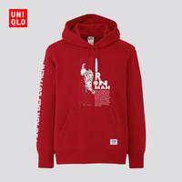 UNIQLO 优衣库 431815 漫威系列 男士连帽卫衣