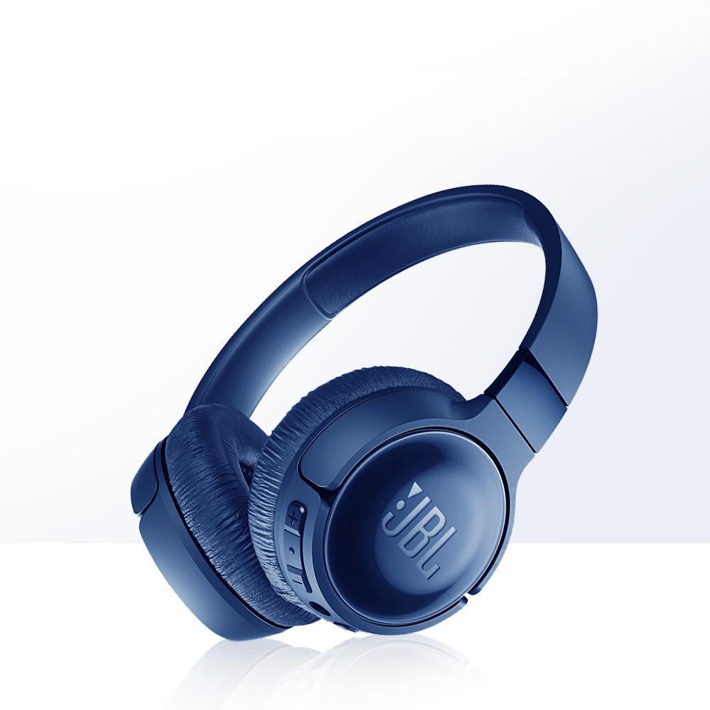 JBL 蓝牙耳机—官方白色无线降噪头戴式头戴耳机耳麦T600BTNC