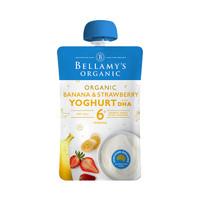 BELLAMY'S 贝拉米 香蕉草莓泥 120g