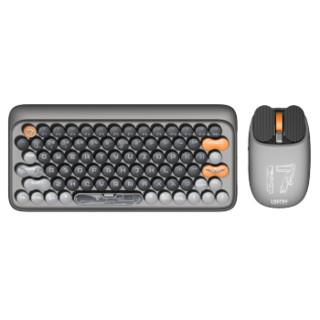 LOFREE 洛斐 EH112S 无线机械键盘 79键 茶轴 山东舰联名款 键鼠套装