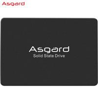 5日0点:Asgard 阿斯加特 AS系列 SATA3固态硬盘 2TB