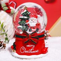 七彩考啦 圣诞水晶球 4.5*7cm