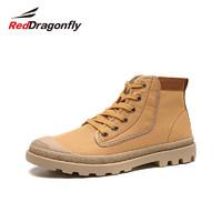 RED DRAGONFLY 红蜻蜓 WYA9119 男款马丁靴