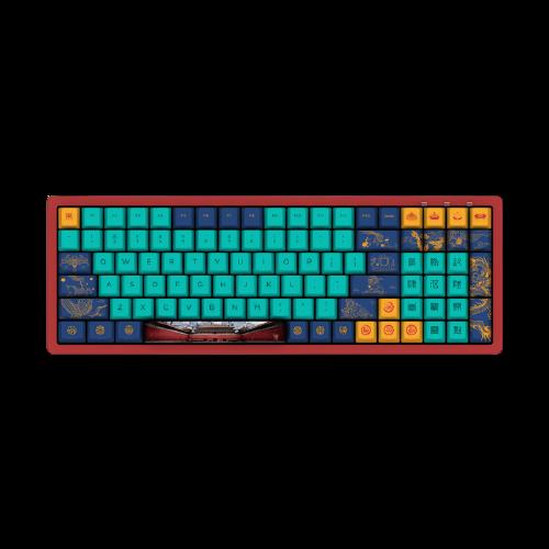 AKKO 3096DS 红豆抹茶/海洋之星100键 有线机械键盘 TTC轴