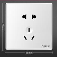 OPPLE 欧普照明 K05 正位五孔插座