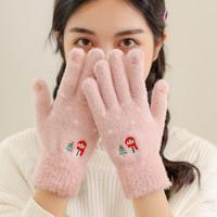 宝姬兰   女士加厚触屏手套
