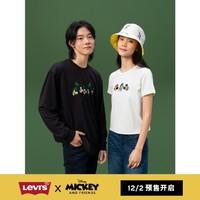 预售:Levi's 李维斯 DISNEY米奇联名 双面印花帽子