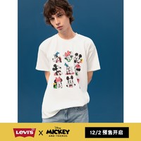 预售:Levi's 李维斯 迪士尼米奇联名 男士印花短袖T恤