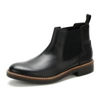 Clarks Blackford Top 男士光面切尔西靴