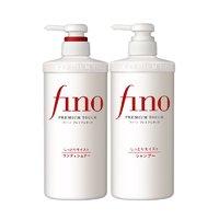 5日10点、考拉海购黑卡会员:SHISEIDO 资生堂 FINO 美容复合洗护套装 洗发水 550ml+护发素 550ml