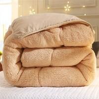 移动专享:朴依家纺 加厚羊羔绒被 150*200cm 5斤