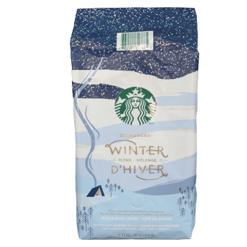 12日0点 : Starbucks 星巴克 咖啡豆 冬季限定款 1130g *2件
