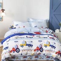 Dohia 多喜爱 卡布工程师 40支纯棉四件套 1.2m床单款