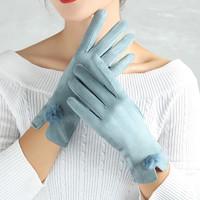 WANKEXI 万客喜 0210 鹿皮绒保暖手套