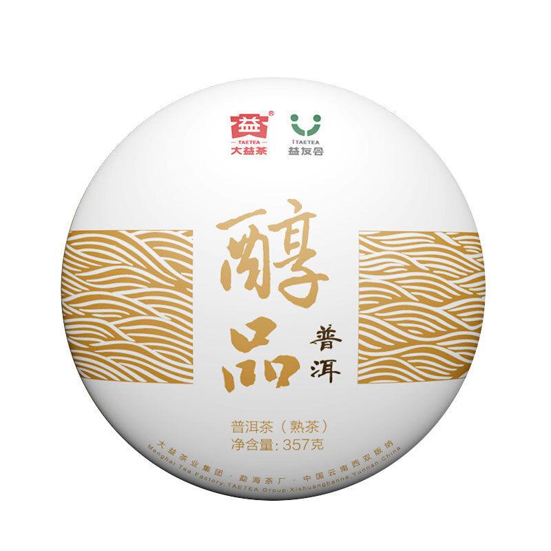 百亿补贴 : TAETEA 大益 醇品普洱茶叶 357g