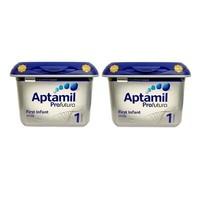 Aptamil 爱他美 白金版 婴幼儿奶粉 1段 800g/罐 2罐装