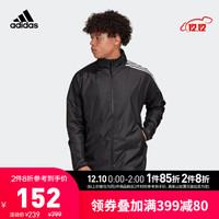 阿迪达斯官网 adidas M ZNE Wndbrkr 男装运动型格夹克外套FQ7228 黑色 A/XL(185/104A)