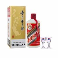 苏宁SUPER会员: MOUTAI 茅台 飞天 53度 酱香型白酒 2020年产 500ml