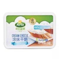 京东PLUS会员:Arla 爱氏晨曦 涂抹奶油奶酪 150g *5件