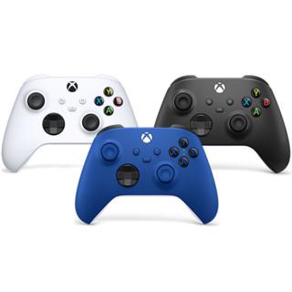 微软 Xbox 无线控制器 2020 冰雪白 磨砂黑 波动蓝手柄 Xbox One官方配件 Xbox Series X/S  游戏手柄 新款