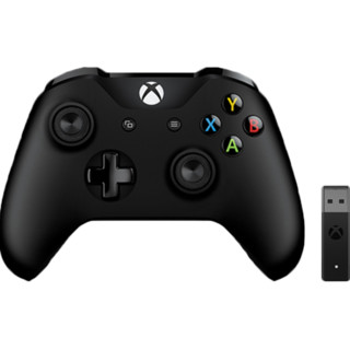 Microsoft/微软 Xbox One游戏手柄 无线控制器+PC无线适配器