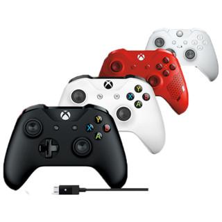 微软 XBOX ONE手柄 精英游戏手柄PC One s蓝牙手柄Xbox One S手柄steam xboxseriesx手柄PC电脑有线无线xsx