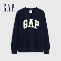Gap 男装 665570 抓绒基本款圆领卫衣  *2件 +凑单品