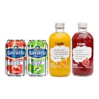 临期品: SAINT CASTLE 圣堡 宝华力亚 精酿水果味啤酒 330ml*4瓶
