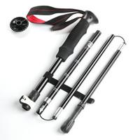 神火(supfire)户外登山杖直柄5节手杖登山拐杖 *6件