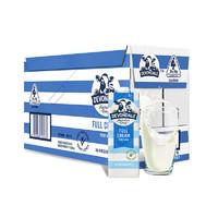 12.12预售:Devondale 德运 全脂高钙纯牛奶 1L*10盒*3件