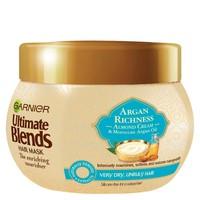 银联返现购:Garnier Ultimate 多元养护摩洛哥坚果油与杏仁乳发膜 300ml  *13件