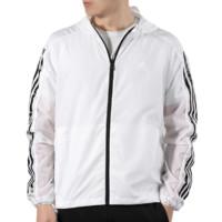 adidas 阿迪达斯 WB 3S 男士运动夹克 EK4725 白色