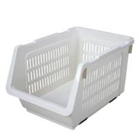 CHAHUA 茶花 2894 厨房塑料斜口层叠收纳篮