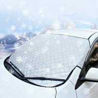 卡耐  汽車雪擋 多層加厚遮陽擋 前擋風玻璃避光防曬隔熱防雪防霜凍車衣半罩