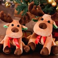 移动专享:MOST FORM 圣诞节礼物毛绒公仔 TY-麋鹿 25厘米