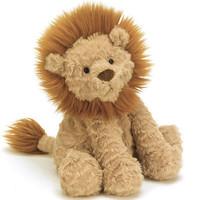 jELLYCAT 邦尼兔 Fuddlewuddle系列 FW6LN 波浪毛狮子毛绒玩具