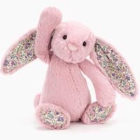 【jELLYCAT旗舰店】英国jellycat邦尼兔Blossom郁金香花耳朵  柔软毛绒宝宝玩具公仔
