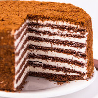 萨姆摩尔 提拉米苏千层蛋糕巧克力味 500g *2件