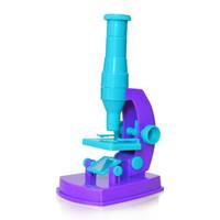 贝利雅 儿童显微镜 DIY玩具 幼儿园科学实验器材